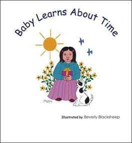 Baby Learns About Time Book Jacket