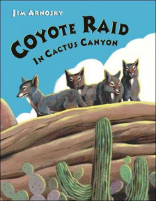 Coyote Raid in Cactus Canyon Book Jacket