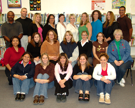 This is a photograph of the Fall '05 class.