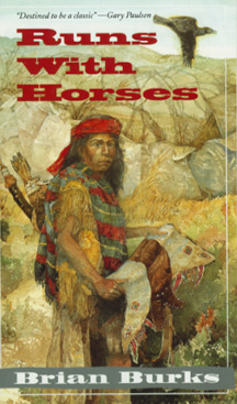 The book jacket shows an Apache warrior.