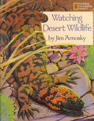 The book jacket shows a Gila monster sunning itself in the Southwest.
